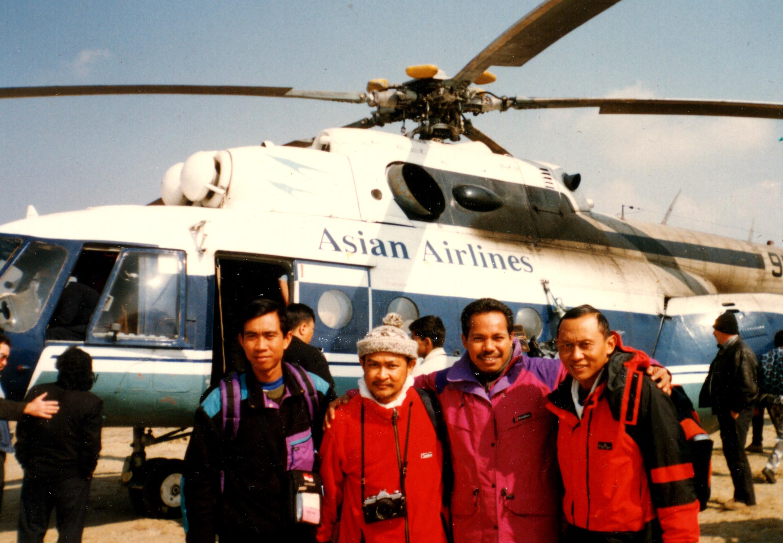 ONE MOMENT IN TIME - Tribhuvan Airport - Kathmandu Nepal